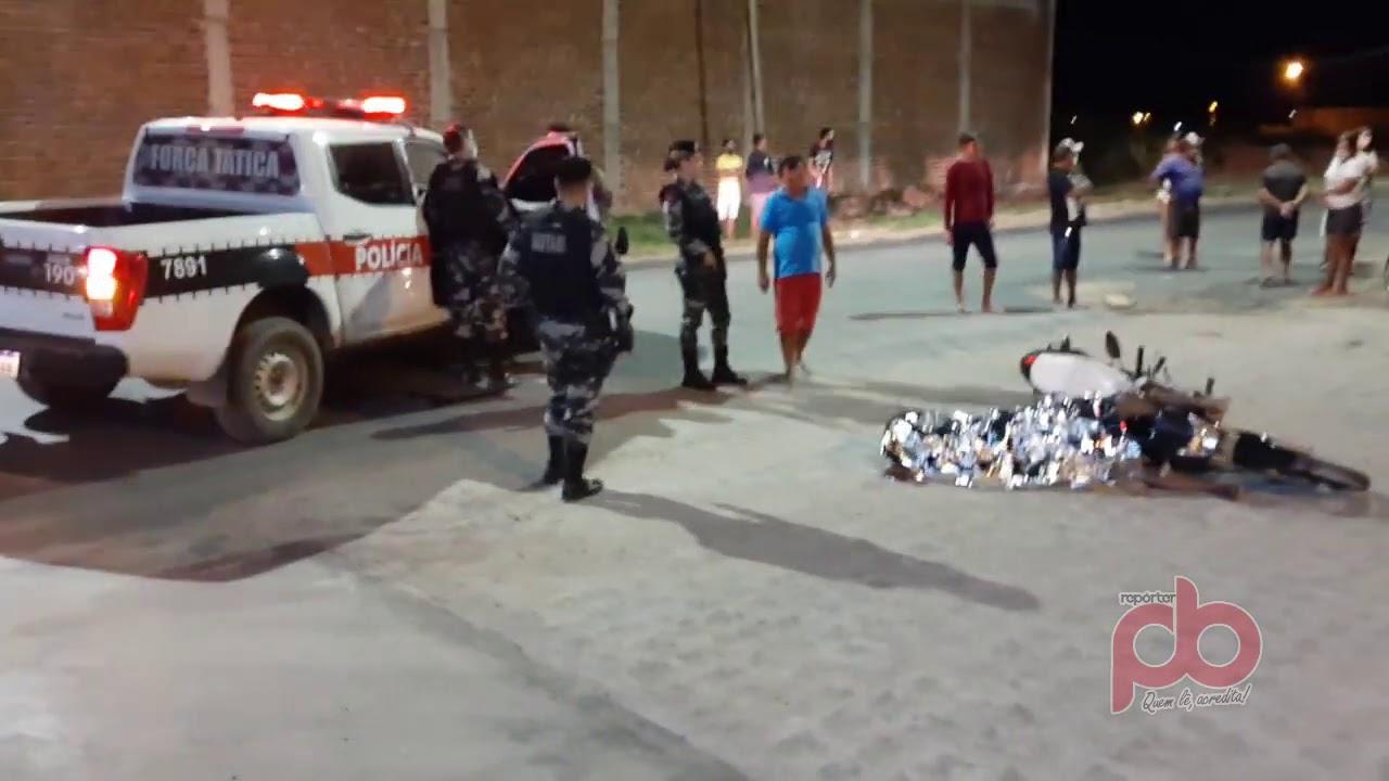 Vídeo revela cenário do crime de morte nesta quinta-feira na Cidade de Sousa