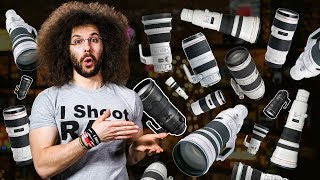 What $20,000,000 Of Canon & Nikon Gear Looks Like, ADOBE Lightroom Delivers SPEED: Photo News Fix