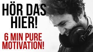 ES IST NIE ZU SPÄT! - 6 MIN PURE MOTIVATION - Motivationsvideo Deutsch