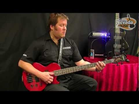 Epiphone Les Paul Special Bass Trans Red & Black Ltd Edition