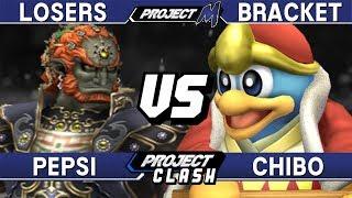 Project M - Pepsi (Ganon) vs Chibo (DDD) - PC 26 Losers Bracket