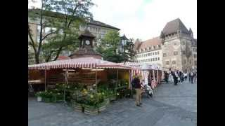 preview picture of video 'Nürnberg - Bavaria - Nuremberg - Deutschland - Germany - Visit Nuremberg'