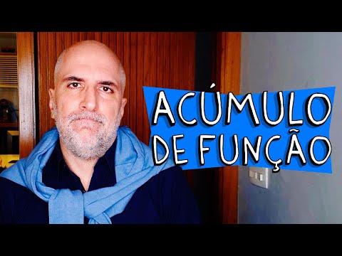 ACÚMULO DE FUNÇÃO