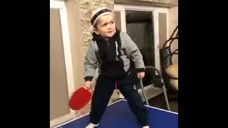 Hasbulla table tennis / ping-pong skills