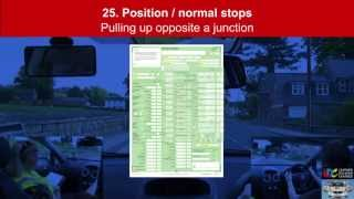 Driving Test - Examples of marking faults