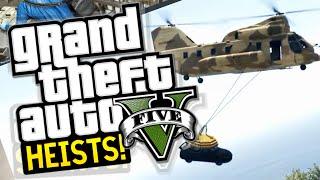 GTA 5 Heist : FLEECA JOB!! Heist Lets Play Livestream!