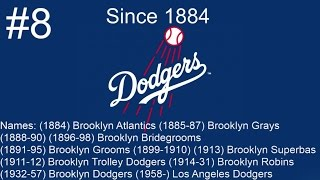 The 30 MLB Franchises From Youngest To Oldest