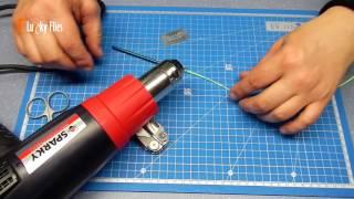 Как сделать на нахлыстовый шнур петлюсщь
