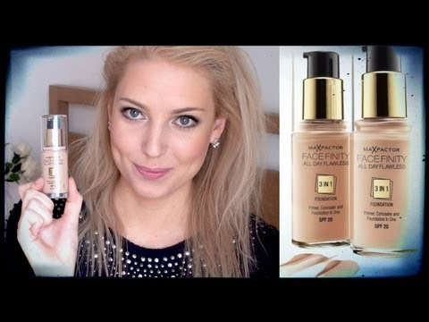 Foundation Review: Max Factor FaceFinity All Day Flawless 3 in 1