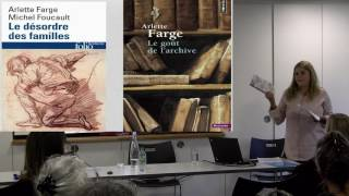 Archaeology of knowledge and working in the archives_Prof Maria Tamboukou