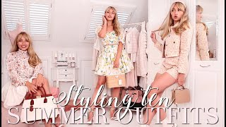 Styling 10 Gorgeous Summer Outfits! 🌸 ~ Freddy My Love