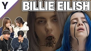 Korean Boy&Girl React To 'Billie Eilish' for the first time