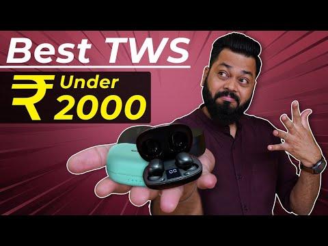 Best TWS Earphones Under ₹2000 ⚡⚡⚡ Top 5 Best Truly Wireless Earphones Under ₹2000