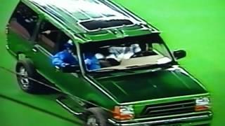 """Toronto Blue Jays"" Joe Carter Raffles Off Derek Bell's Jeep At Skydome!"