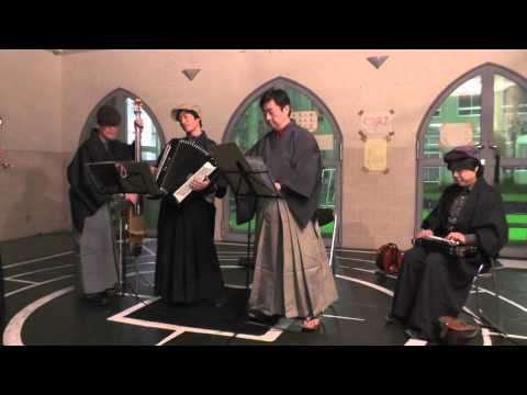 パノラマ2日目 坂本町会音楽隊 Live 坂本小学校 後半 2014 01 25