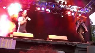 Diggy Simmons & Jacob Latimore   I Like Em All Sixflags NJ 624