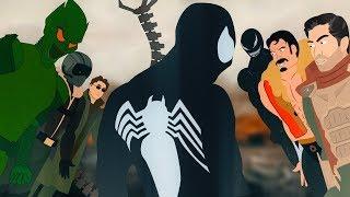 Зловещая Шестерка и Черный Человек-Паук