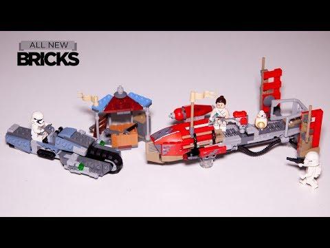 Vidéo LEGO Star Wars 75250 : La course-poursuite en speeder sur Pasaana