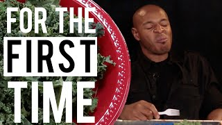 Black People Try White People Food 'For the First Time'