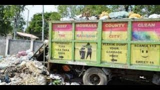 County government of Mombasa blames police for frustrating garbage collection