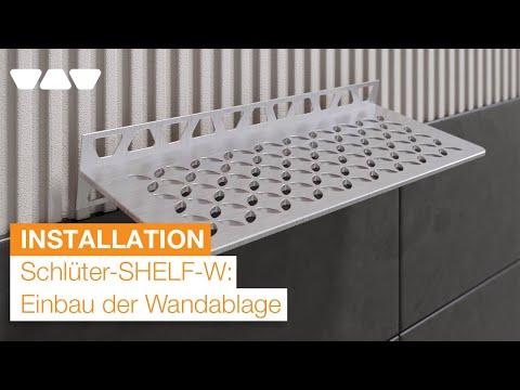 Elegante Wandablage: Schlüter-SHELF-W