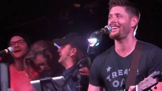 Jensen, Rob, Richard, Jason and Timothy singing 'The Weight' @ Jailbreak 23.05.2016