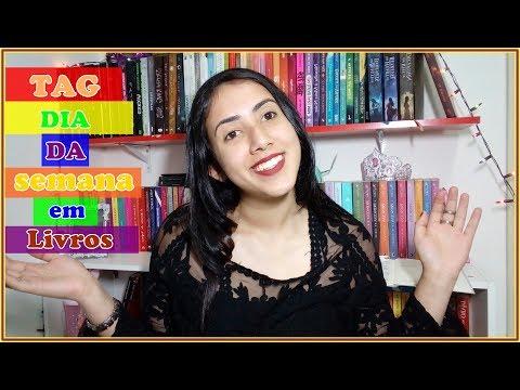 TAG: Dia da Semana em Livros |  Leticia Ferfer | Livro Livro Meu