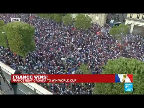 World Cup 2018: French come together to celebrate victory