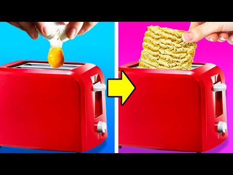 בסרטון הזה תראו 28 דרכים מדליקות להכין אוכל מדהים בקלי קלות