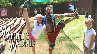Acrobatics at the Renaissance Festival! | Whitney Bjerken