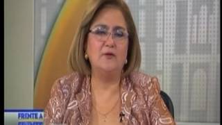 Entrevista Frente a Frente de TCS a Licenciada Raquel Cabellero de Guevara 24-03-2017