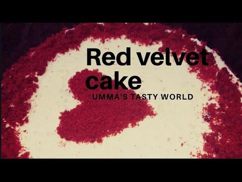 Red velvet cake || Umma's tasty world