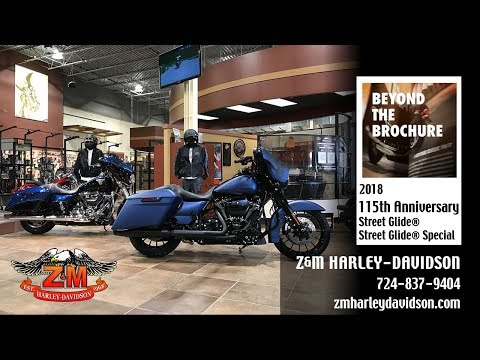 2018 Harley-Davidson 115th Anniversary Street Glide® Special in Greensburg, Pennsylvania