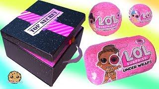 LOL Surprise Under Wraps Eye Spy BOX of Blind Bag Balls - Toy Video