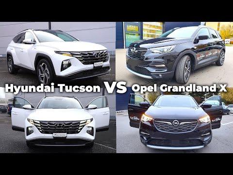 Hyundai Tucson 2021 vs Opel Grandland X 2021