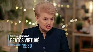 LRT Televizija. Beatos Virtuvė. Ved. Beata Nicholson L 2017 12 29 Anonsas