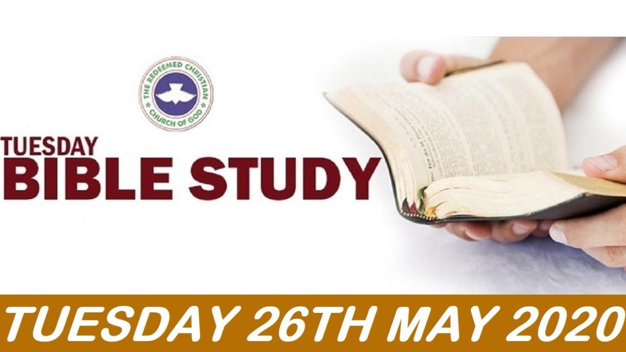 RCCG Bible Study 27th May 2020