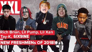 КТО СТАНЕТ ФРЕШМЕНОМ В 2018? / КТО ОНИ? Lil PUMP, 6IX9INE, Trippie Redd, LIL XAN, SCARLXRD, CARDI B