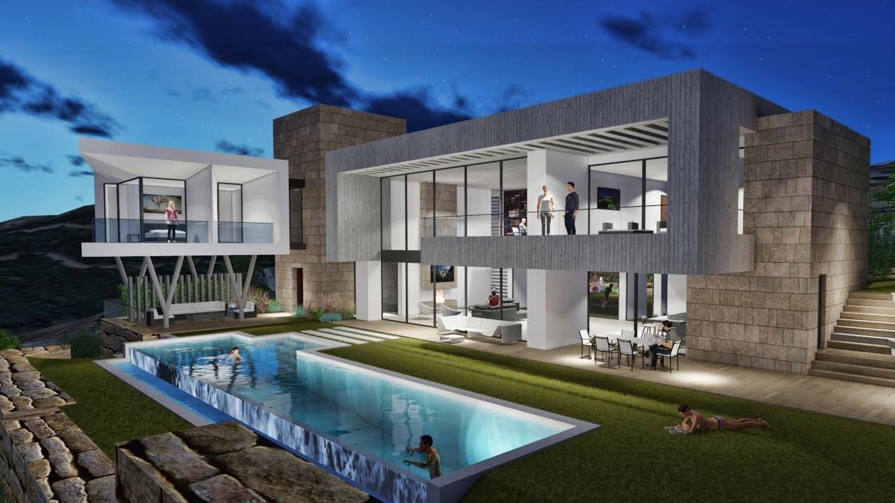 Moderna Lujosa Villa en Benahavis (en desarrollo)