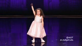 Sophie Fatu: The Youngest Contestant Make Happy With 'New York, New York' On America's Got Talent