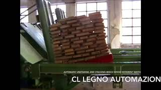 Stacking Systems For Wood Industry