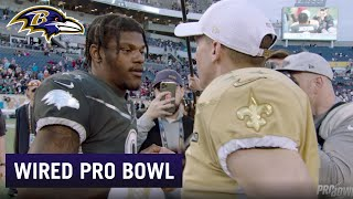 Lamar Jackson Wired For the Pro Bowl | Ravens Wired