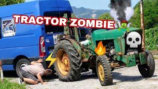 ARRANCARÁ TRACTOR ZOMBIE PARADO HACE 20 AÑOS? Old Tractor John Deree Cold Start After Years