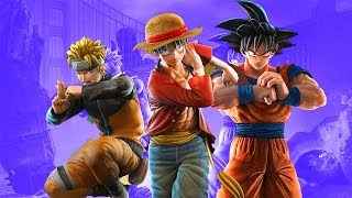 Jump Force Early Story And Versus Gameplay