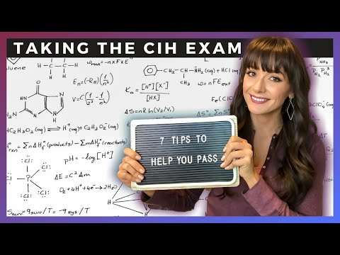 TAKING THE CERTIFIED INDUSTRIAL HYGIENIST EXAM | 7 Tips to ...