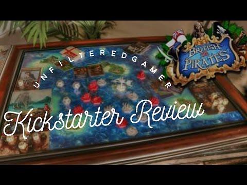 British vs. Pirates - Unfiltered Gamer - Kickstarter Board Game Review