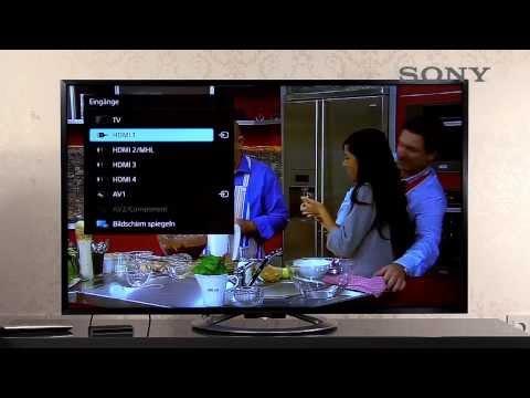 SONY BRAVIA TV - 11 externe Geräte anschließen
