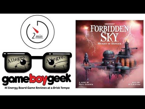 The Game Boy Geek's Allegro (2-min Review) of Forbidden Sky