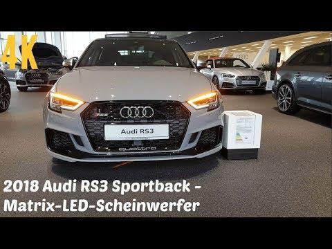 2018 Audi RS3 - Matrix-LED-Scheinwerfer - dynamischer Blinker [4K]