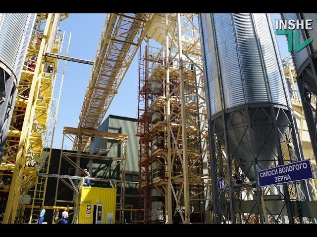Новий термінал «НІБУЛОНу» побудований за 100 днів. Це рекорд при будівництві подібних обєктів